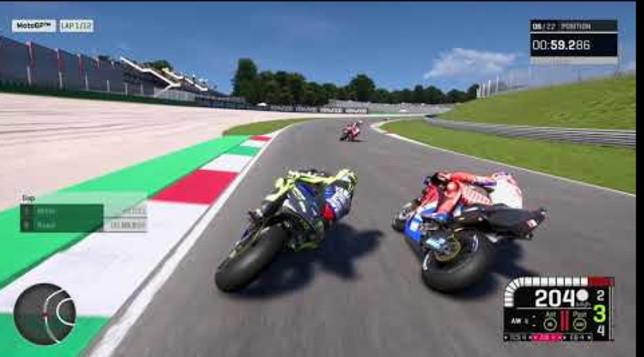 Anche la MotoGP è virtuale: sfida Rossi-Marquez al     Mugello