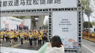 Cina, si torna alla normalità: in mille alla Panda Marathon