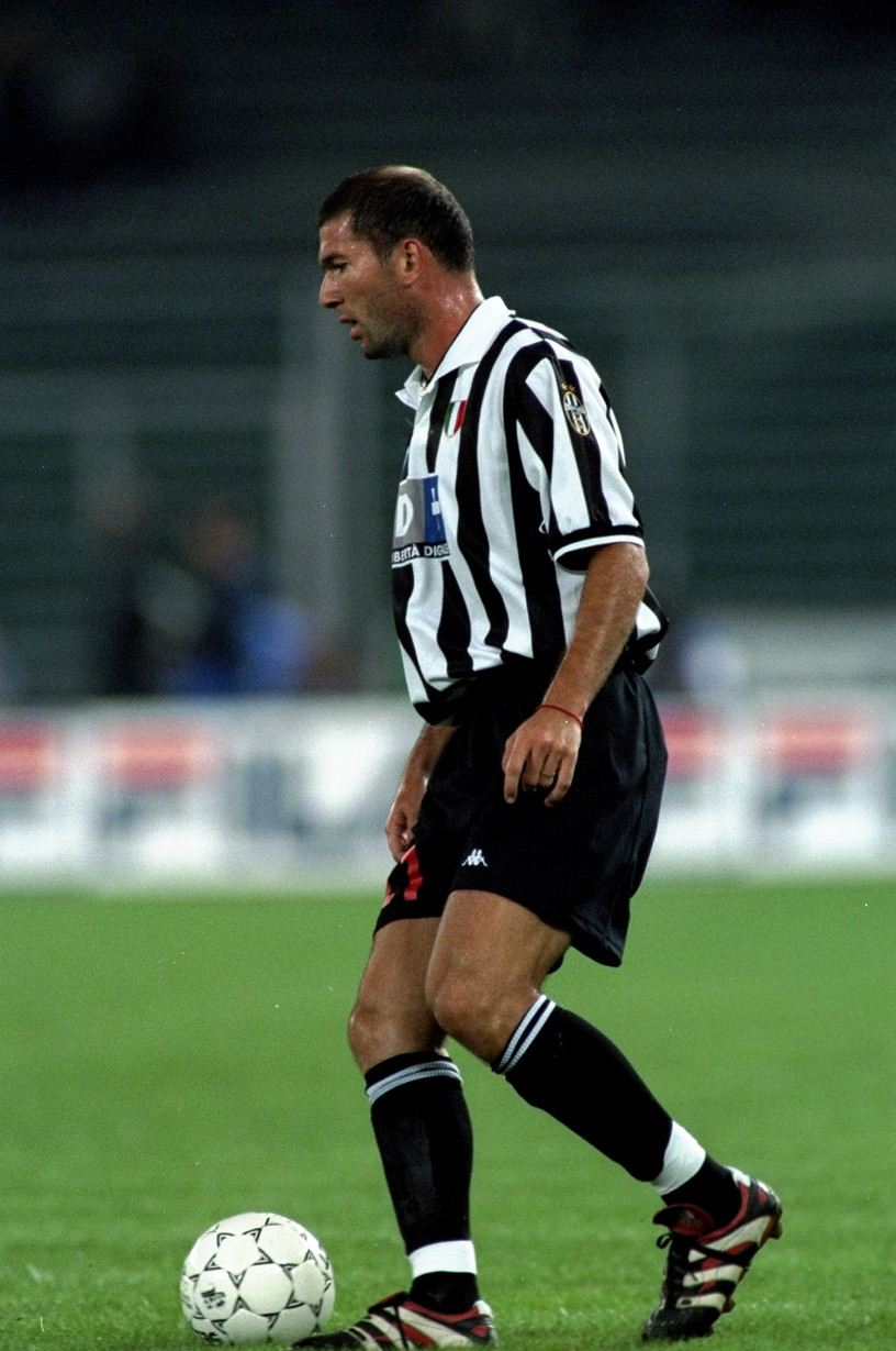 5) Zinedine Zidane
