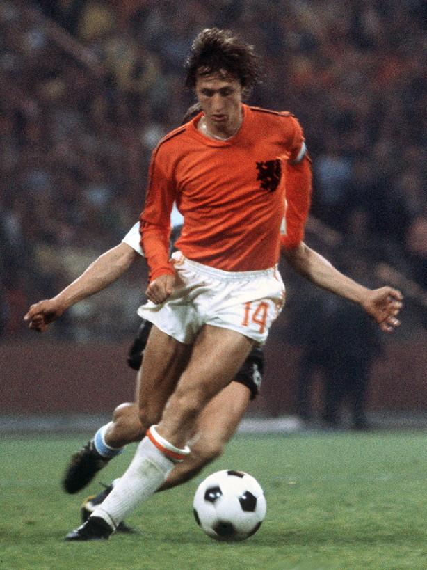 5) Johan Cruyff