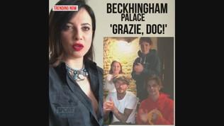 "Beckhingam Palace applaude i medici impegnati nella lotta al Covid 19: ""Grazie Doc!"""
