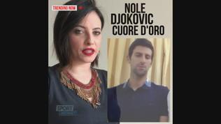 Djokovic cuore d'oro: un milione per la sua Serbia