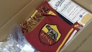 Coronavirus, la Roma distribuisce kit di aiuto ai tifosi over 75