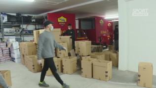 """Roma, kit di aiuto ai tifosi over 75"""""""