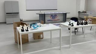 La Candy Arena diventalaboratorio e centro di distribuzione di mascherine