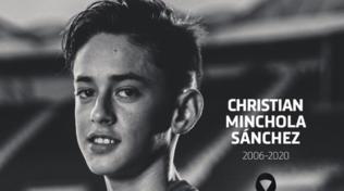 Lutto Atletico Madrid: morto Minchola, attaccante 14enne