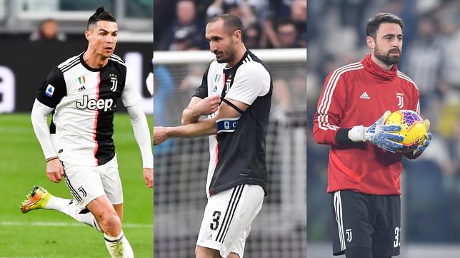 Da CR7 a Pinsoglio: a quanto rinuncia ogni calciatore della Juve