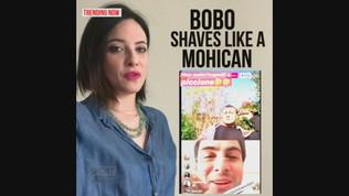 Vieri lancia la Bobo Shaves Like a Mohican