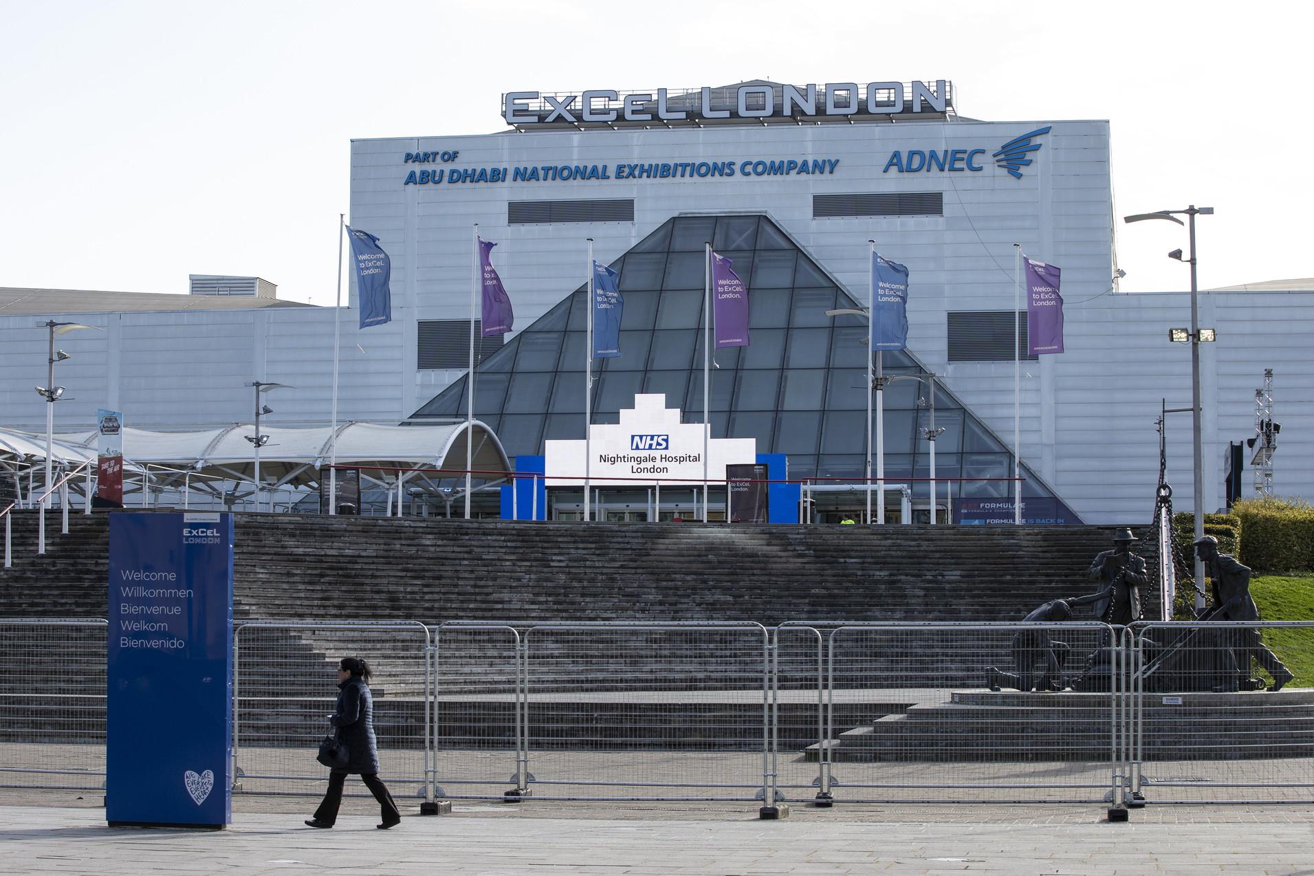 IlLondon ExCel Centre, che è previsto accolga l'ultimo E-Prix della stagione 2020, è stato riconvertito in ospedale temporaneo...