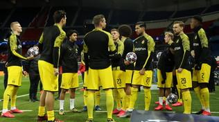 Il Dortmund gioca d'anticipo: subito in campo, ma con precauzioni