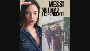 """Messi, stop alle polemiche: """"Aiutiamo i dipendenti del Barca"""""""