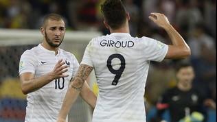 """Giroud, che risposta a Benzema: """"Io un kart con un Mondiale"""""""