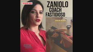 Zaniolo versione coach: peggio di un sergente!