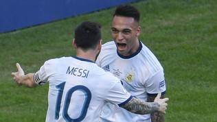 """""""Da un test psicologico capimmo che era fortissimo: Lautaro perfetto per Messi"""""""