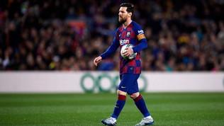 Il jet privato di Messi costretto a un atterraggio di emergenza