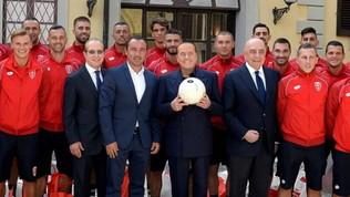 Monza, i giocatori dicono sì a Berlusconi: taglio stipendi del 50%
