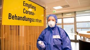 Lo stadio di Dortmund per arginare il coronavirus