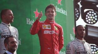 """Leclerc: """"Schumi il mio idolo, la Ferrari è sempre un'emozione"""""""