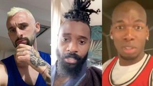 Capelli rasati e baffi: i calciatori cambiano look