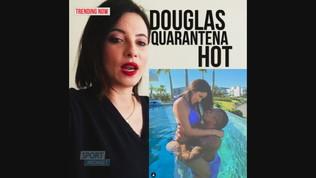 Douglas Costa, quarantena hot con la sua Nathalia Felix