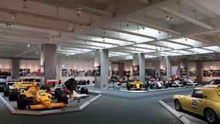 A spasso per il museo della Honda
