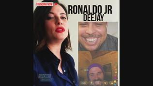 Ronaldo Jr, passione deejay di musica elettronica