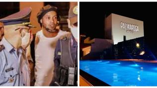 Ronaldinho, una 'prigione' dorata: domiciliari a 4 stelle