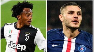 Icardi vuole sempre la Juventus: Cuadrado per convincere l'Inter
