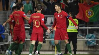 CR7 e il Portogallo donano metà bonus per aiutare i dilettanti
