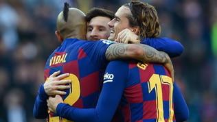 Lautaro-Barcellona? L'Inter chiede Griezmann e tratta Vidal