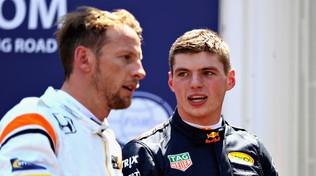 """Button incorona Verstappen: """"Riesce a fare cose incredibili"""""""