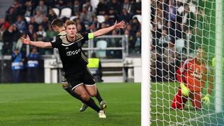 De Ligt come CR7: dal gol Champions all'aereo per Torino