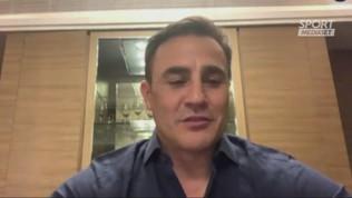 """Cannavaro: """"Milan, con Gattuso hai sbagliato"""""""