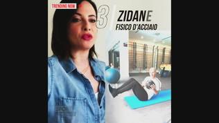 Zidane, fisico d'acciaio anche lontano dal campo