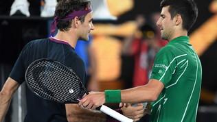 """Nole, Federer e Nadal: """"Fondo di solidarietà per chi è oltre il 250° posto"""""""