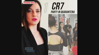 CR7, party per la nipote in quarantena: polemica sui social