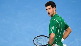 """La """"steccata"""" no-vax di Djokovic: """"No al vaccino obbligatorio"""""""
