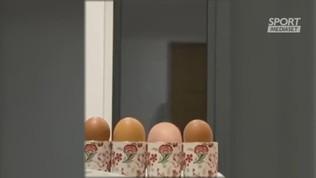 Quattro uova, con una sorpresa: Reina!