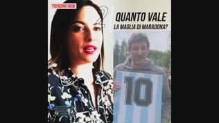 La maglia di Maradona all'asta benefica: il Papu offre 15.000 euro