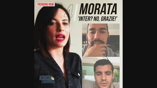 """Morata in diretta Instagram con Fognini: """"Inter? No grazie!"""""""