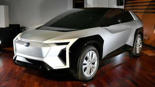 Anche Subaru avrà la sua prima elettrica