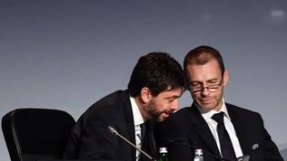 """L'Uefa anticipa 70 mln ai club per i nazionali. Agnelli: """"Soldi necessari"""""""