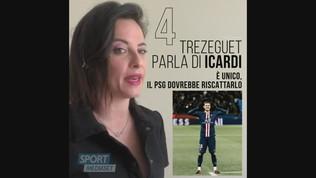 """Trezeguet consiglia il PSG: """"Riscatta Icardi, è unico"""""""