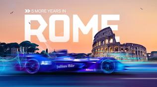 Roma sempre più elettrica: E-Prix in città fino al 2025