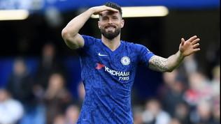 Giroud-Inter non s'ha da fare: il Chelsea esercita il rinnovo annuale
