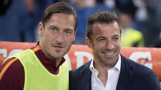 """Totti a Del Piero: """"Mio figlio alla Lazio? Mica so' scemo..."""""""