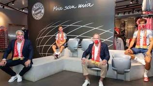 Il Bayern ha venduto 100mila mascherina in un giorno