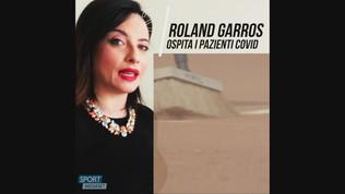 Roland Garros, le stanze degli allenamenti per i malati di Covid 19