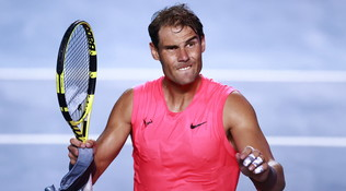 """Nadal k.o., salta la sfida online: è il primo infortunato """"virtuale"""""""