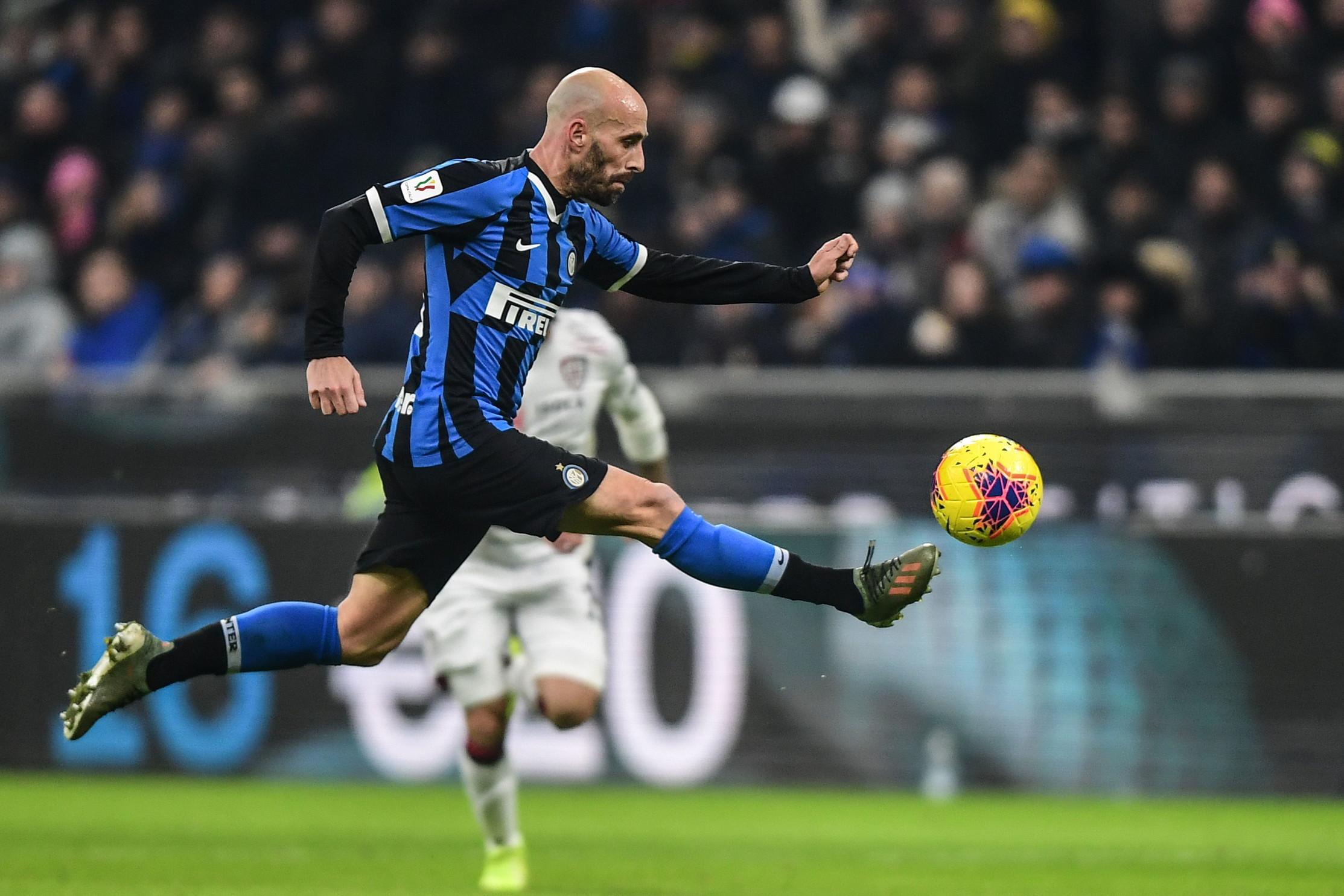Inter: Borja Valero (foto), Berni, Young (anche in prestito) e Padelli